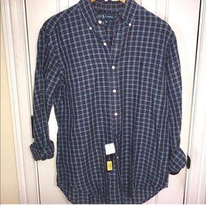 NWT Ralph Lauren button-down dress Shirt casual